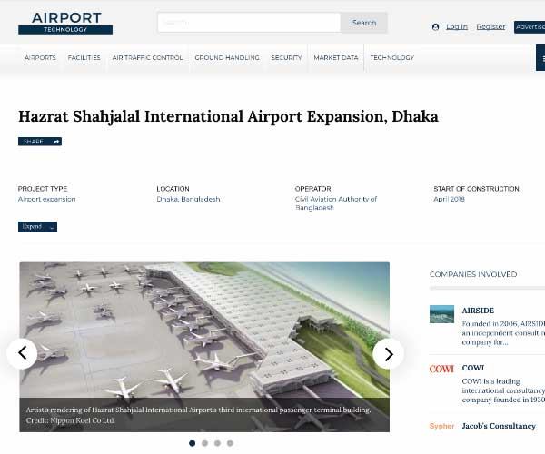 Hazrat Shahjalal International Airport Expansion, Dhaka